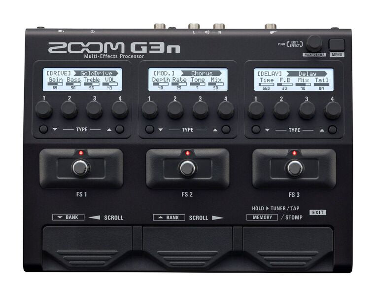 Zoom G3n USB Guitar Effects Pedal