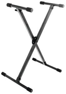 On-Stage Stands KS8290 Lok-Tight Professional Single-X ERGO-LOK Keyboard Stand