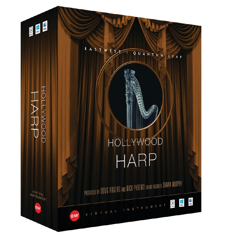 EastWest Hollywood Solo Harp - Gold