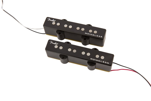 Fender Gen 4 Noiseless Jazz Bass Pickups - 2 Pack