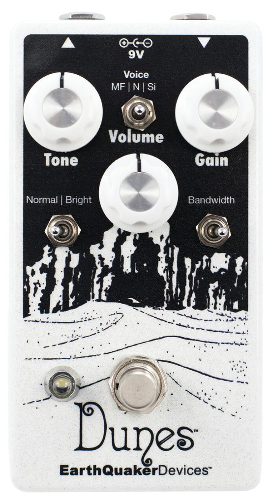 EarthQuaker Devices Dunes V2 Mini Mega Ultimate Overdrive Pedal