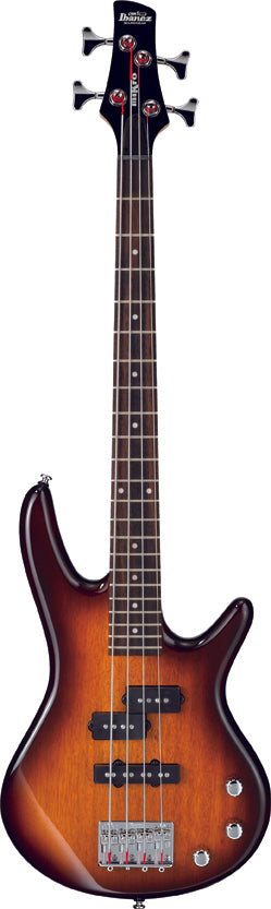 Ibanez Mikro GSR 4 String Electric Bass Guitar - Brown Sunburst