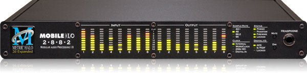 Metric Halo Mobile I/O 2882 Expanded Digital Audio Interface With DSP