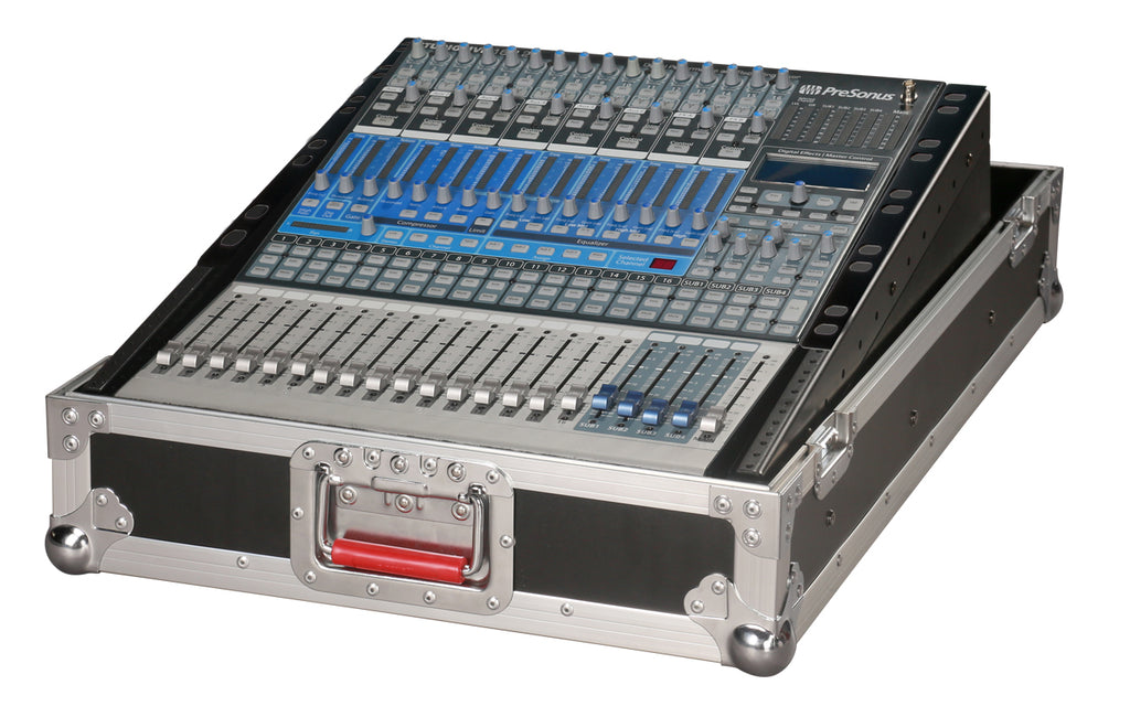 Gator G-TOUR-SLMX14 14U Slant Top Mixer Case