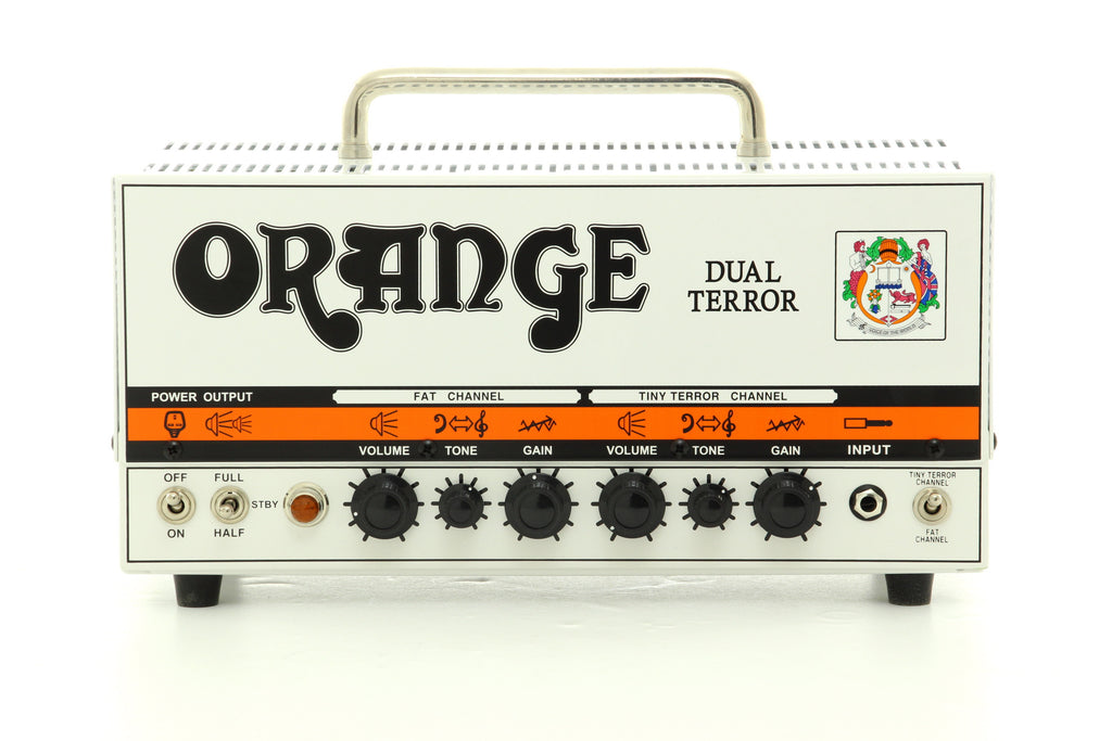 Orange Dual Terror Guitar Amp Head - White
