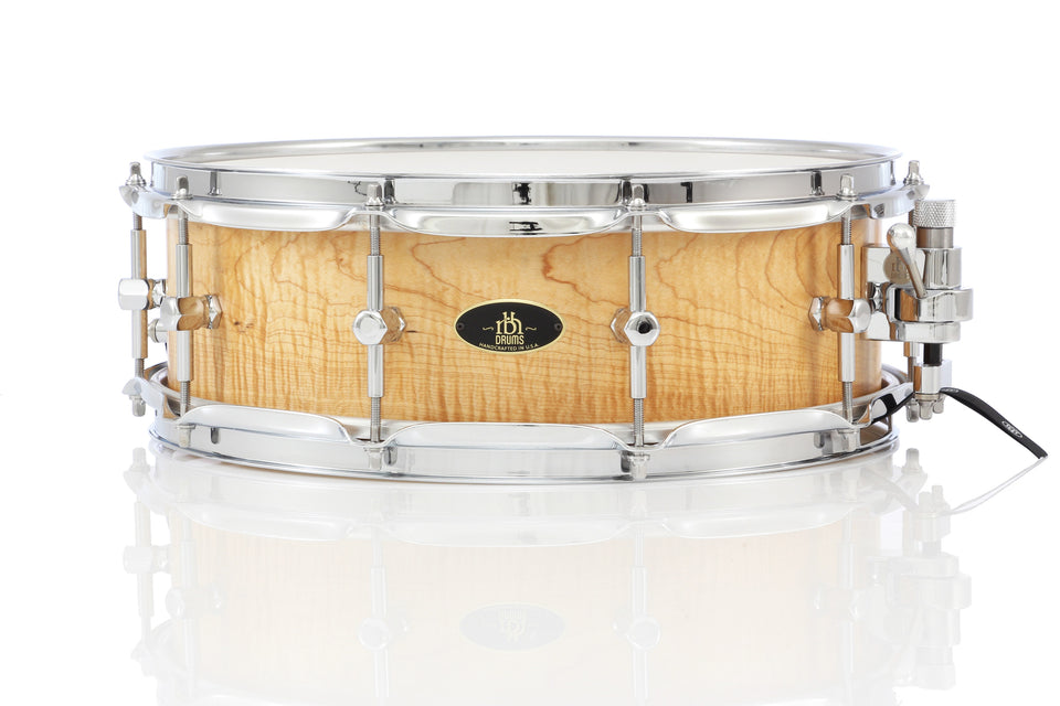 "RBH 14"" x 5"" Prestige Snare Drum - Curly Maple"