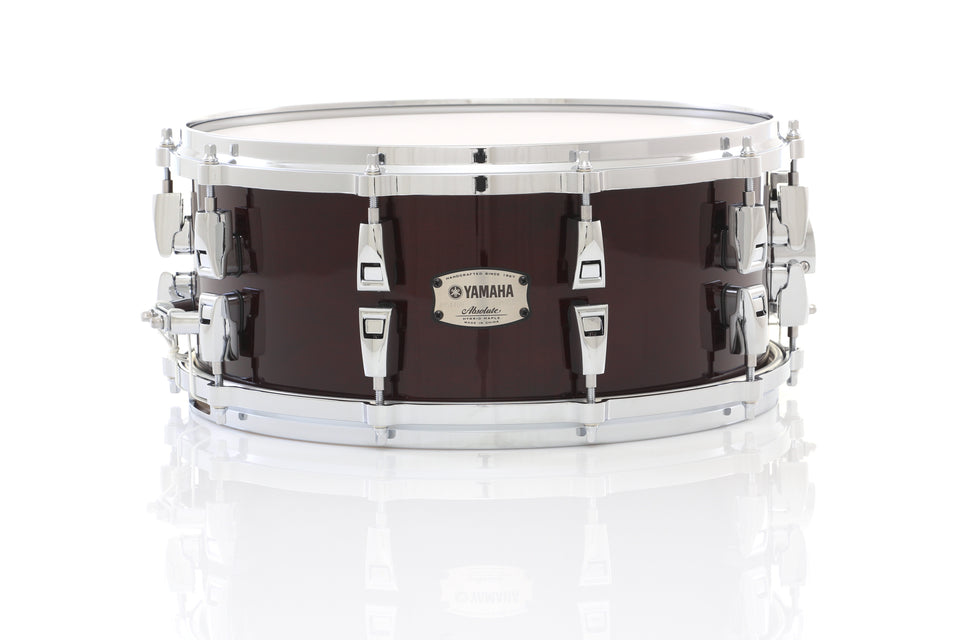 "Yamaha 14"" x 6"" Absolute Hybrid Maple Snare Drum - Classic Walnut"