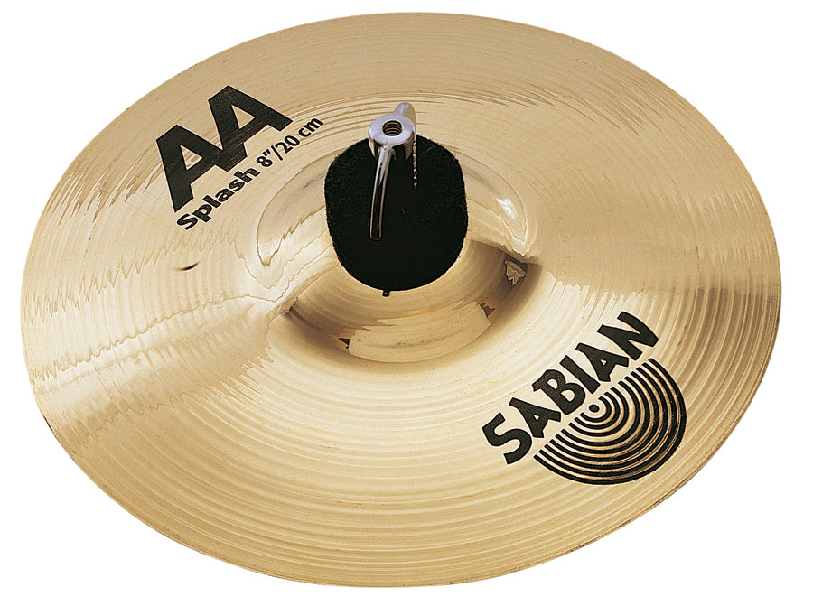 "Sabian 8"" AA Splash Cymbal Brilliant Finish"