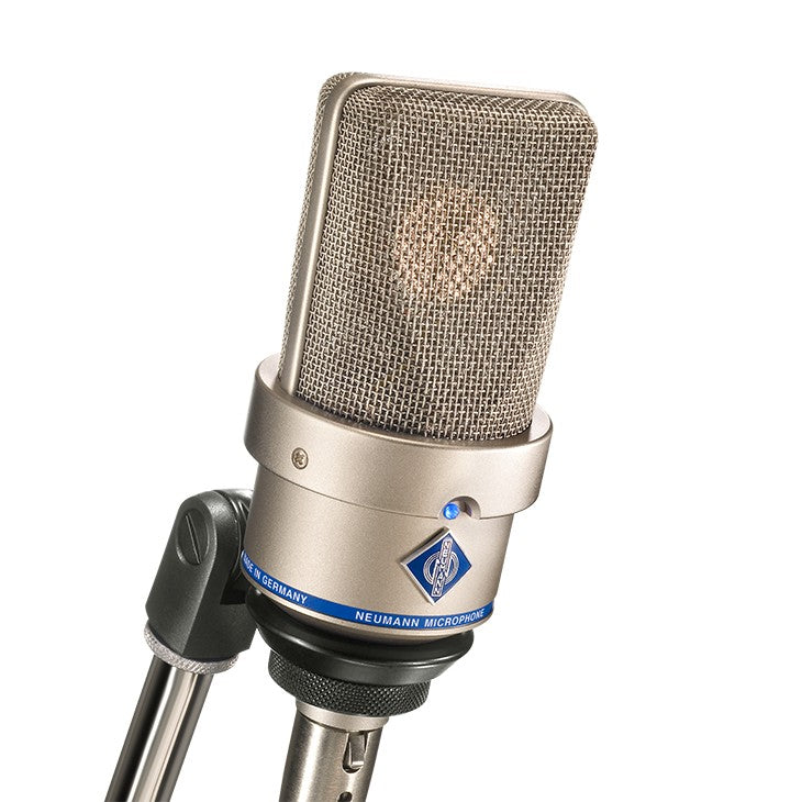 Neumann TLM 103 D Digital Condenser Microphone w/ SG1 Mount & Wooden Box - Nickel
