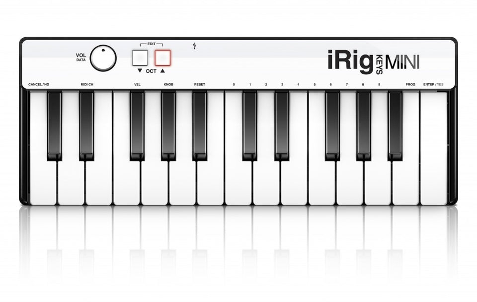 IK Multimedia iRig Keys Mini Keyboard Controller