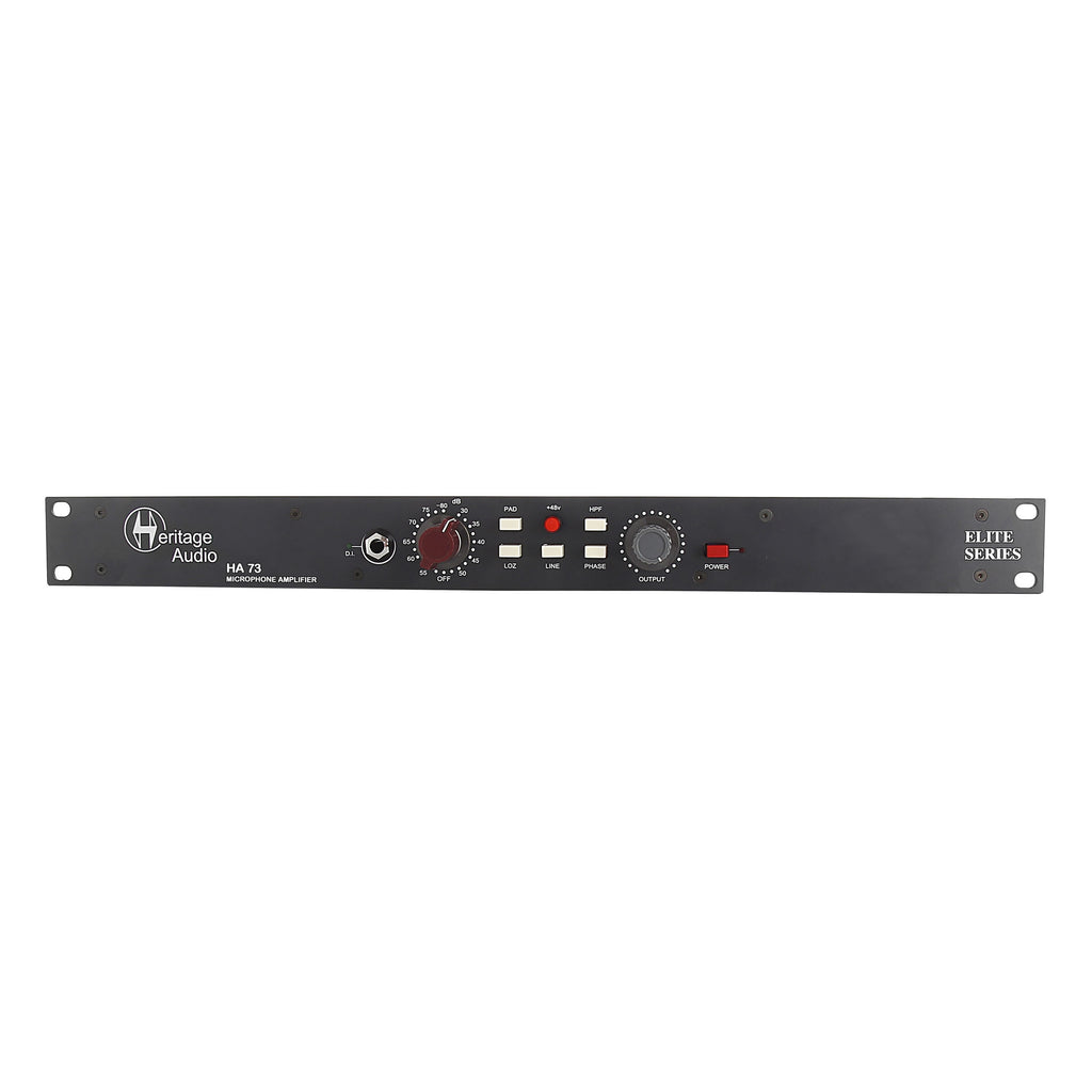 Heritage Audio HA73 Elite Single-Channel Full Rack Mic Pre