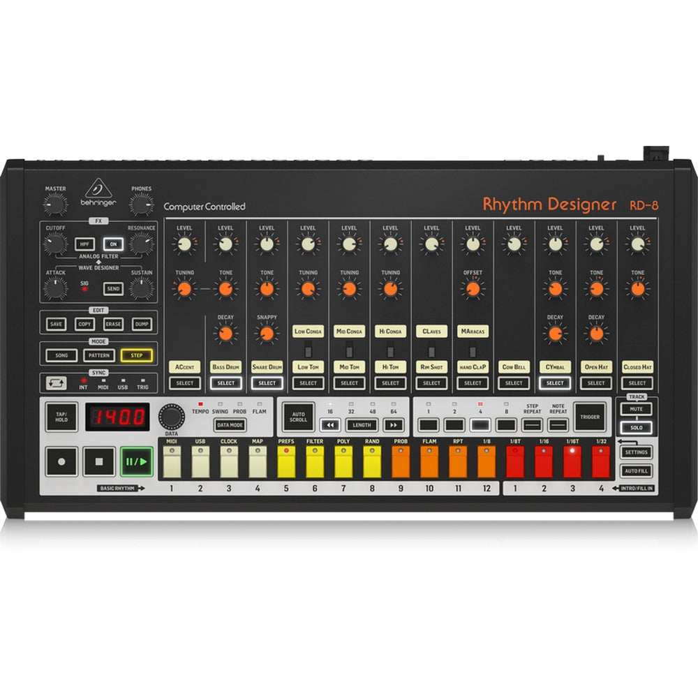 Behringer Rhythm Designer RD-8 Drum Machine