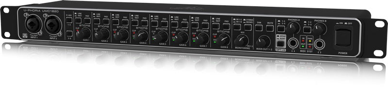 Behringer UMC1820 Audio/MIDI Interface