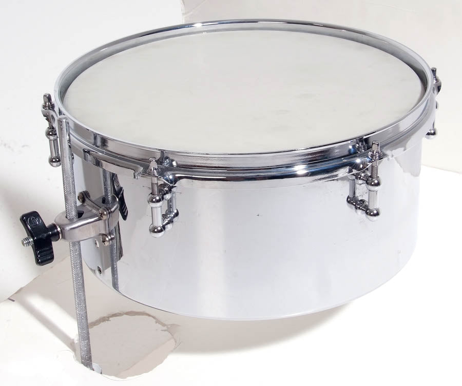 "LP LP812-C 12"" Drum Set Timbale, Chrome"