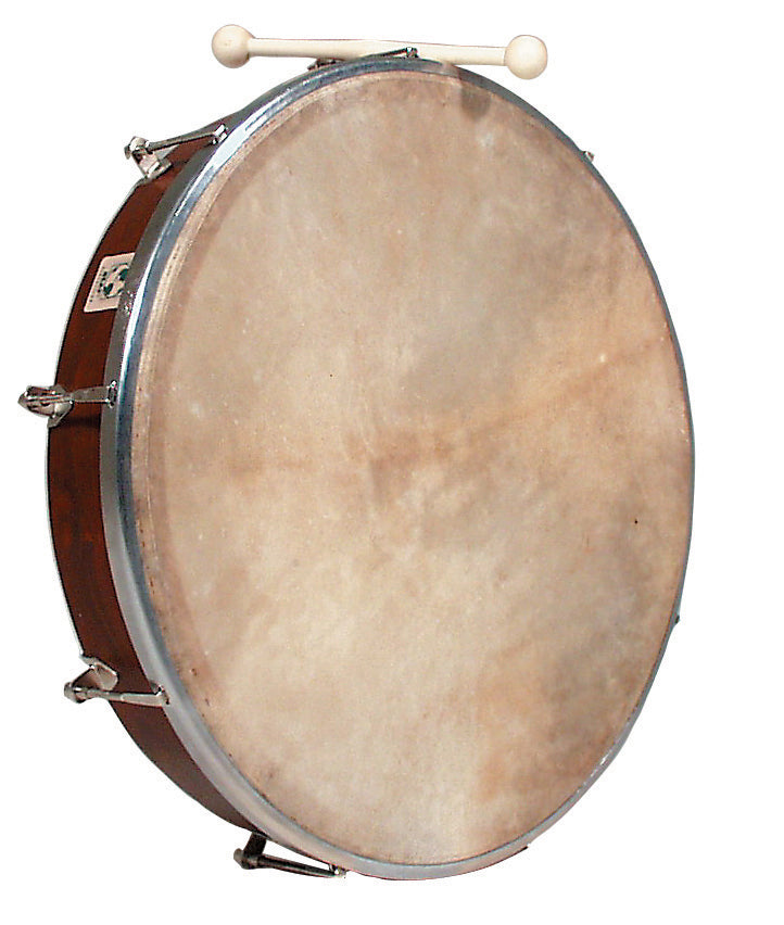"LP WB239 World Beat 18"" Tunable Bodhran, Rosewood"