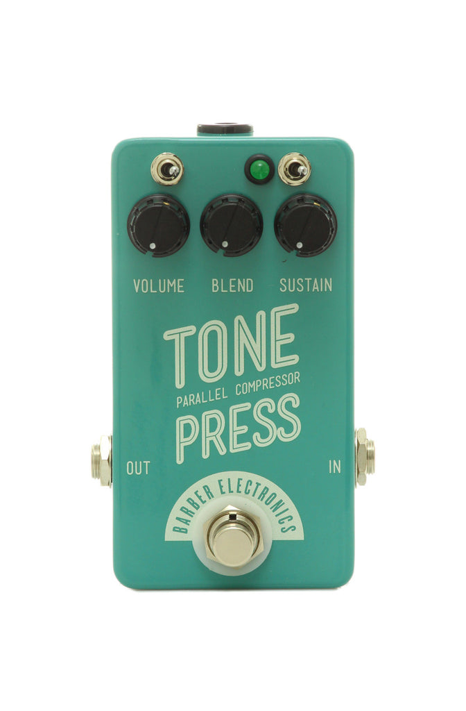 Barber Electronics Tone Press Parallel Compression Effects Pedal
