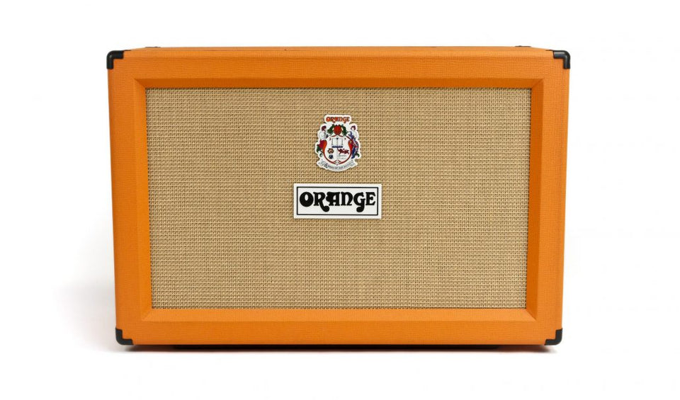 Orange PPC212C 2x12 120W Guitar Speaker Cabinet - Orange