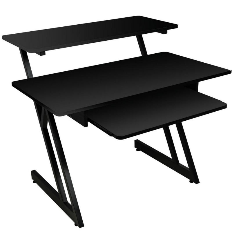 On-Stage Stands WS7500B Wood Workstation - Black