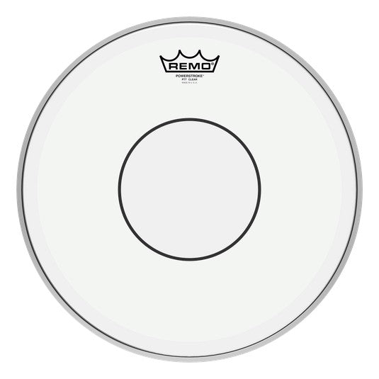 Remo Powerstroke 77 Clear Clear Dot Snare Drum Head