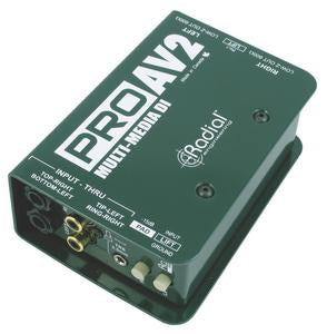 Radial Engineering ProAV2 Stereo Multimedia DI