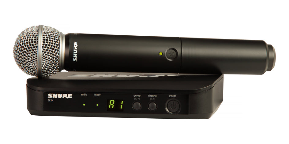 Shure BLX24/SM58 H9 Handheld Wireless System