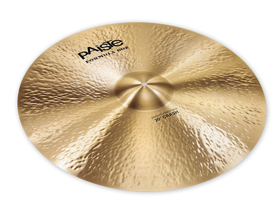 "Paiste 20"" Formula 602 Modern Essentials Crash Cymbal"