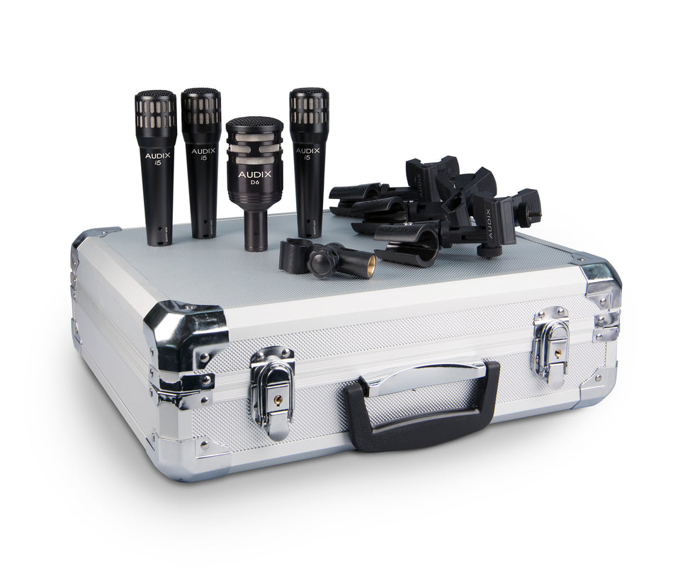 Audix DP4 4-piece Drum Mic Package