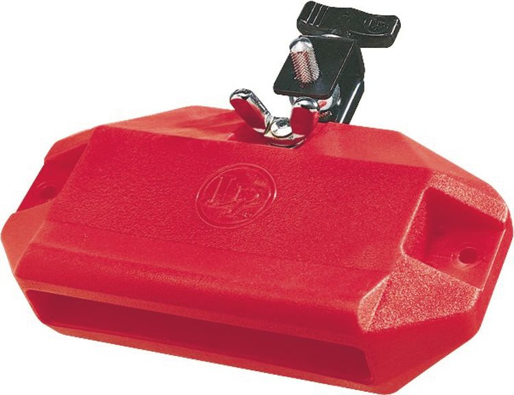 LP LP1207 Medium Pitch Jam Block, Red