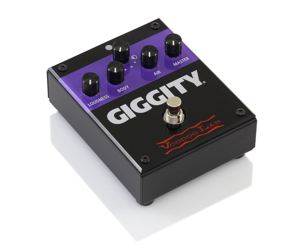 Voodoo Lab GIGGITY Analog Mastering Guitar Preamp