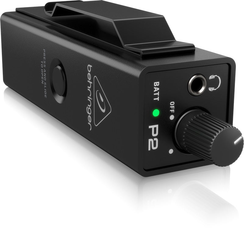 Behringer Powerplay P2 Ultra-Compact Personal In-Ear Monitor Amplifier