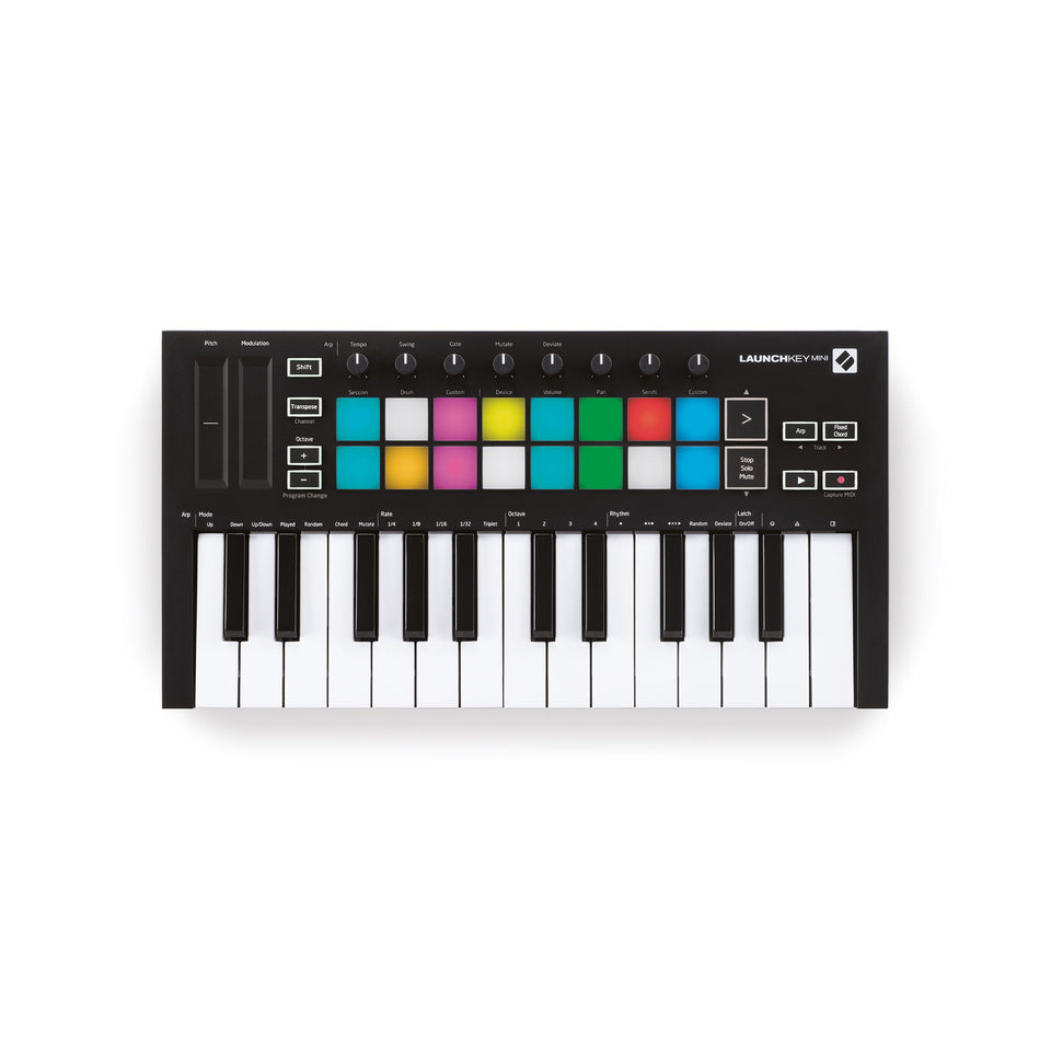 Novation Launchkey Mini MK3 MIDI Keyboard