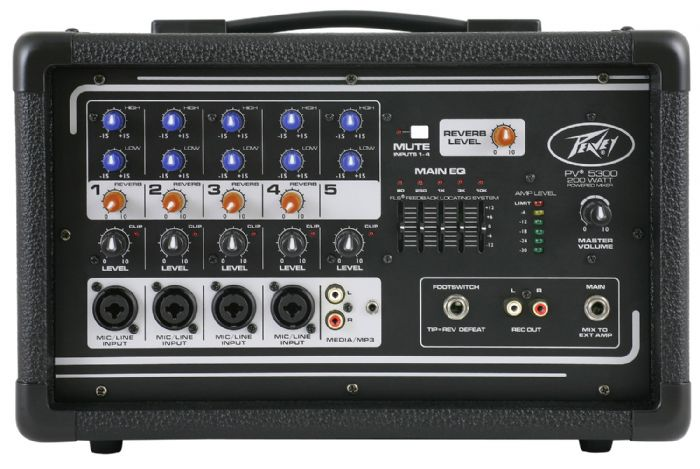 Peavey PV5300 200w Powered Mixer
