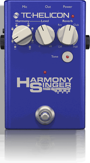 TC HELICON Harmony Singer 2 Vocal Effect Pedal