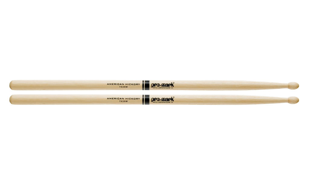 Promark TX2SW Hickory 2S Wood Tip drumstick