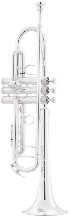 King 2055S Silver Flair Intermediate B-Flat Trumpet Outfit