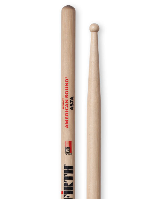 Vic Firth American Sound 7A Round Tip Drum Stick