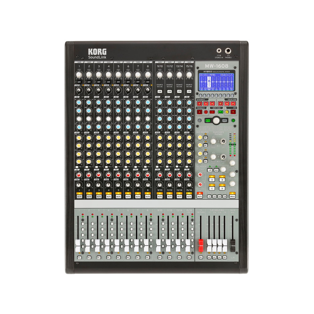 Korg Soundlink 16-Channel Hybrid Mixer