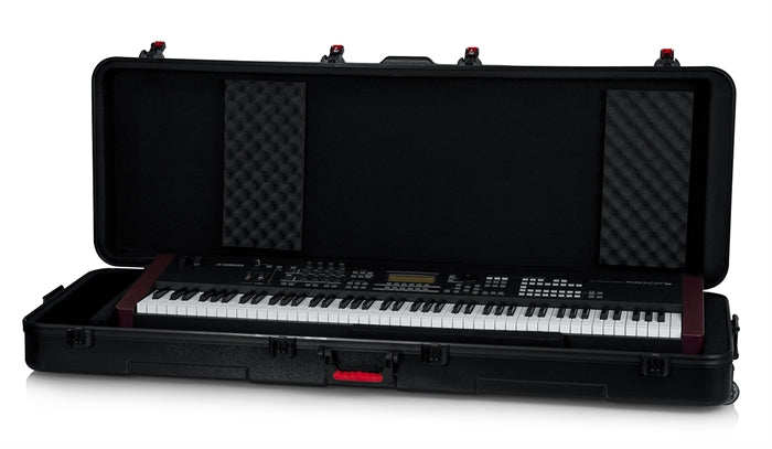 Gator Cases TSA ATA Molded 88-Note Keyboard Case W/ Wheels