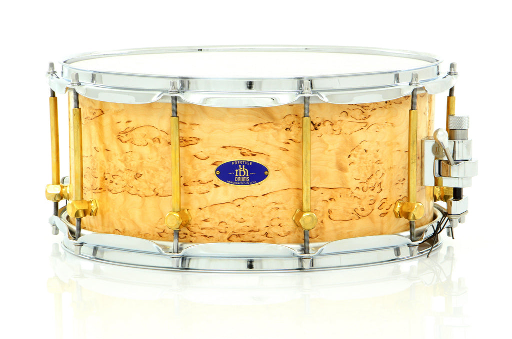 "RBH Drums 14"" x 6.5"" Prestige Poplar Snare Drum With Kurillian Birch Outer Veneer"