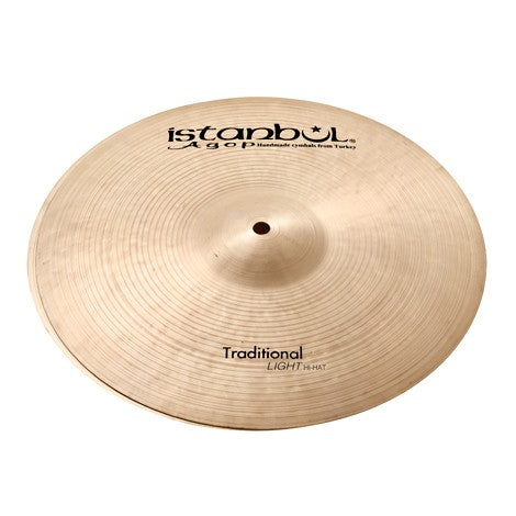 "Istanbul Agop 15"" Traditional Light Hi-Hat Cymbals"
