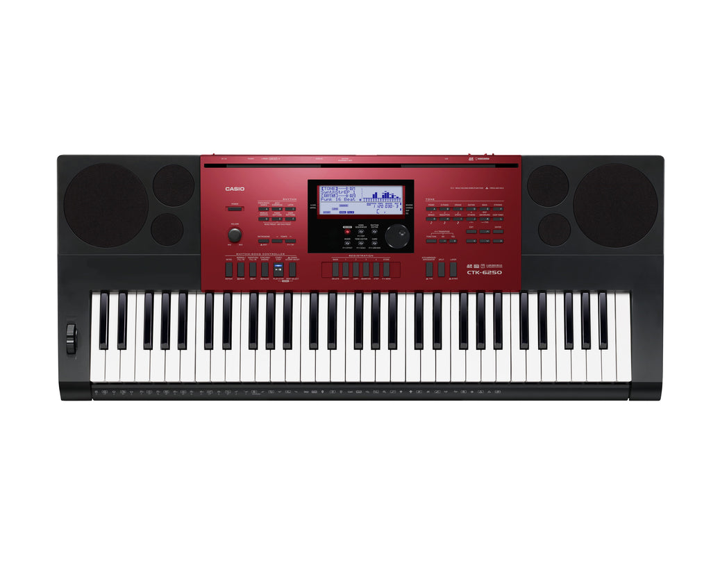 Casio CTK-6250 61 Piano-Style Key Standard Keyboard