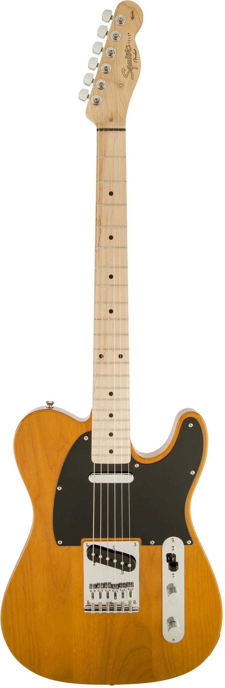 Squier Affinity Series Telecaster Electric Guitar - Butterscotch Blonde, Maple Fingerboard