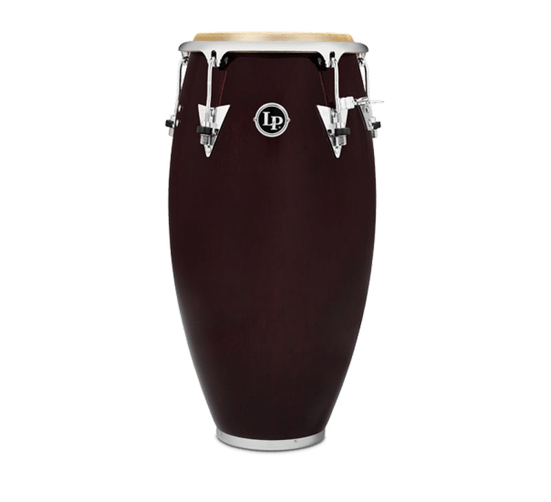LP LP522X-DW Classic Series Wood Quinto 11-Inch - Wine Red/Chrome