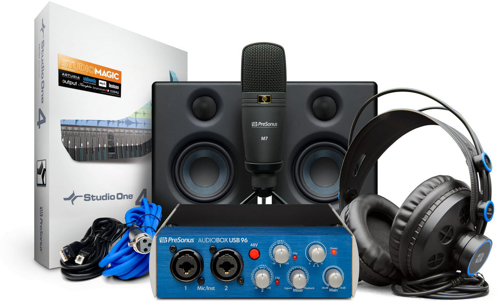 PreSonus AudioBox Studio Ultimate Bundle Recording Kit
