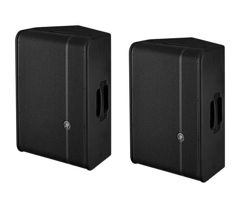 "Mackie HD1221 12"" High Definition Powered Loudspeakers - Pair"