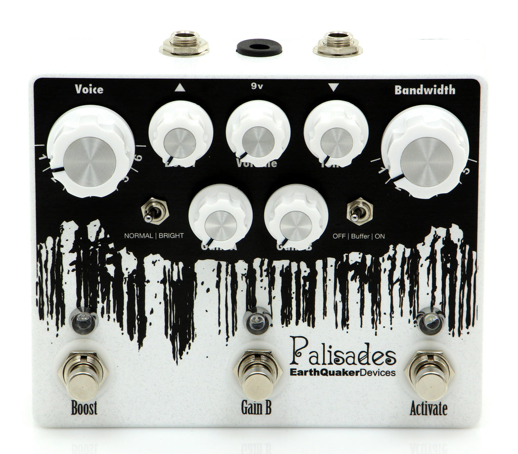 Earthquaker Palisades Mega Ultimate Overdrive Classic Guitar Effects Pedal