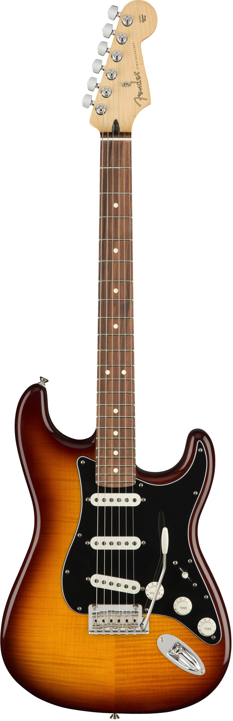 Fender Player Stratocaster Plus Top, Pau Ferro Fingerboard - Tobacco Sunburst