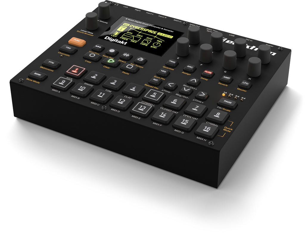 Elektron Digitakt 8 Track Sampler And MIDI Sequencer