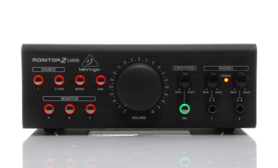 Behringer MONITOR2USB Speaker And Headphone Monitoring Controller