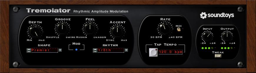 Soundtoys Tremolator Tremolo And Auto-Gate Plug-In